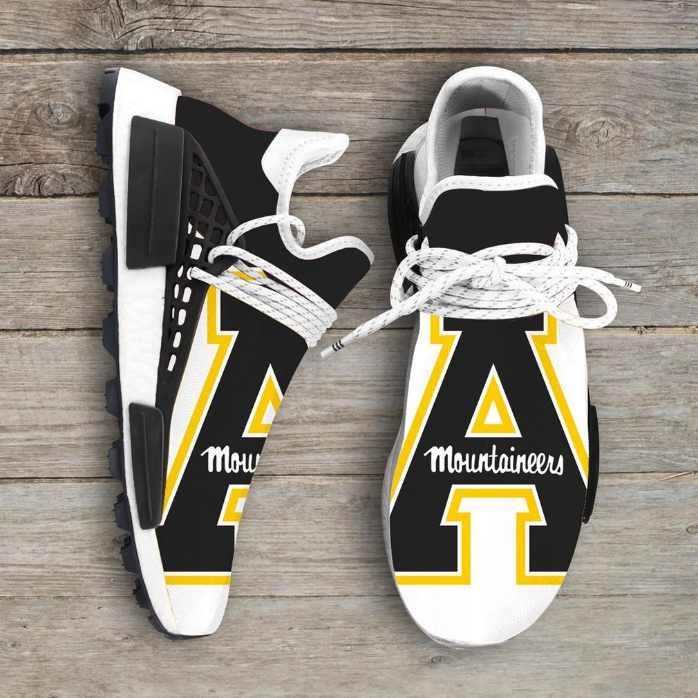 Appalachian State Mountaineers Ncaa Nmd Human Race Sneakers Sport Shoes Running Shoes