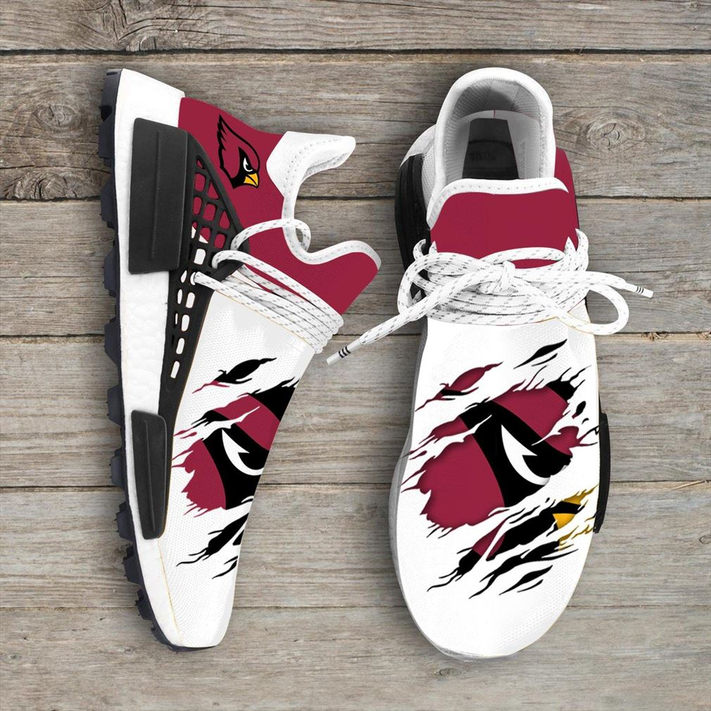 Arizona Cardinals Nfl Sport Teams Nmd Human Race Sneakers Sport Shoes Running Shoes