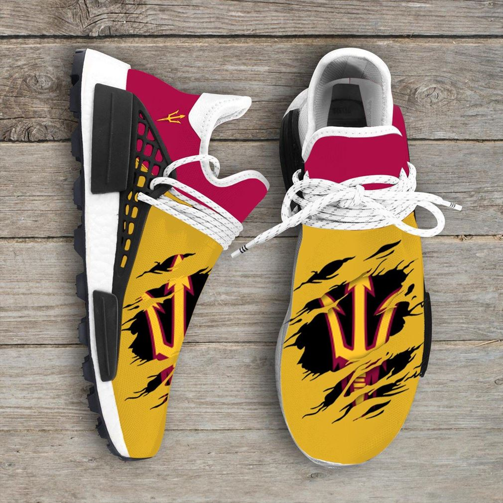 Arizona State Sun Devils Ncaa Sport Teams Nmd Human Race Sneakers Sport Shoes Running Shoes