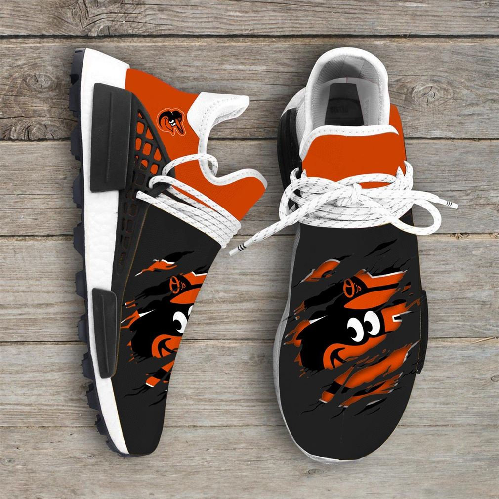 Baltimore Orioles Mlb Sport Teams Nmd Human Race Sneakers Sport Shoes Running Shoes