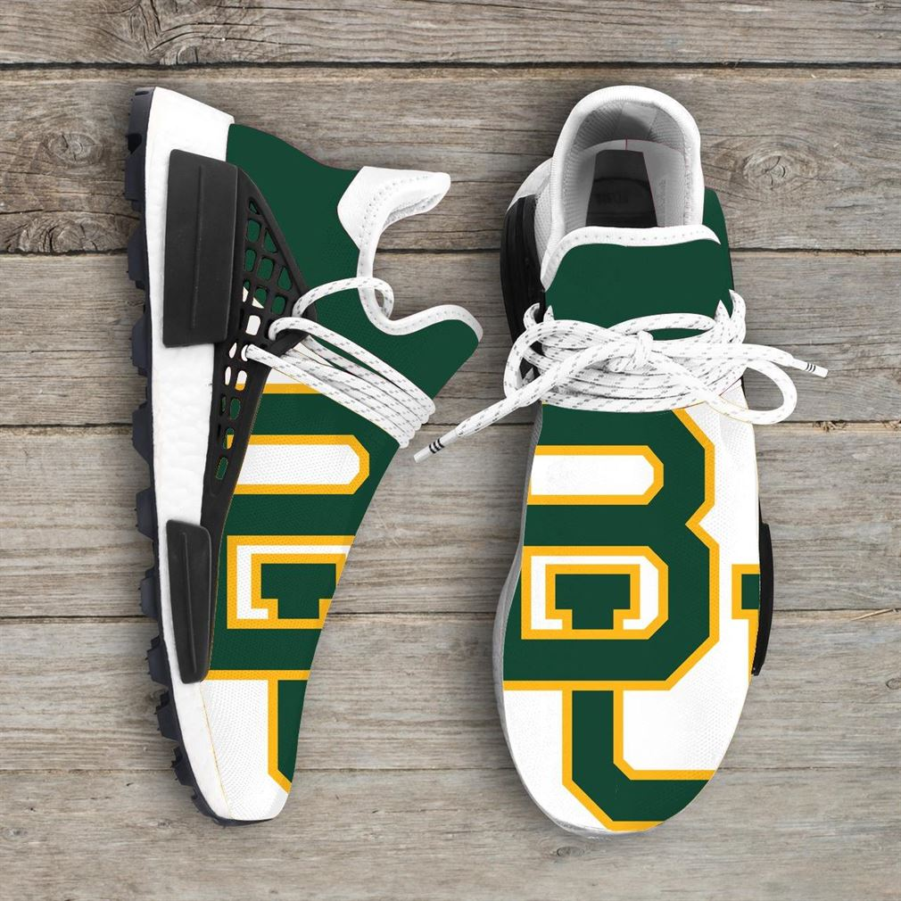 Baylor Bears Ncaa Nmd Human Race Sneakers Sport Shoes Running Shoes