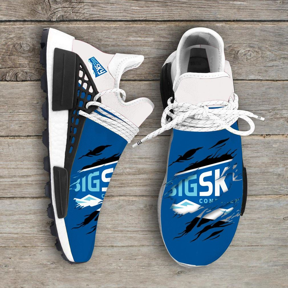 Big Sky Conference Ncaa Sport Teams Nmd Human Race Shoes Sneakers