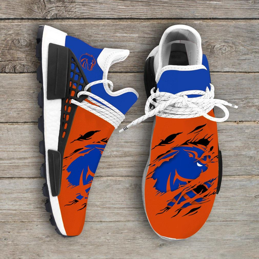 Boise State Broncos Ncaa Sport Teams Nmd Human Race Shoes