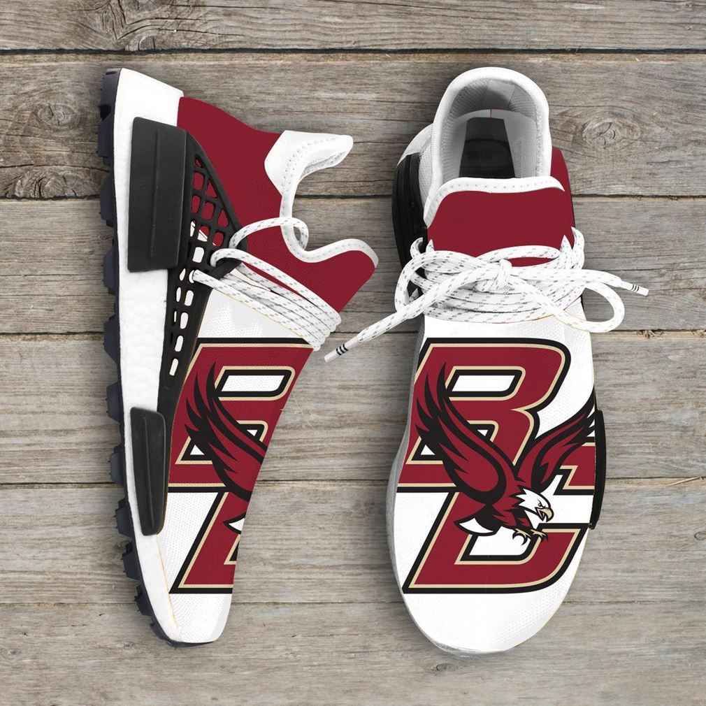 Boston College Eagles Ncaa Nmd Human Race Sneakers Sport Shoes Running Shoes