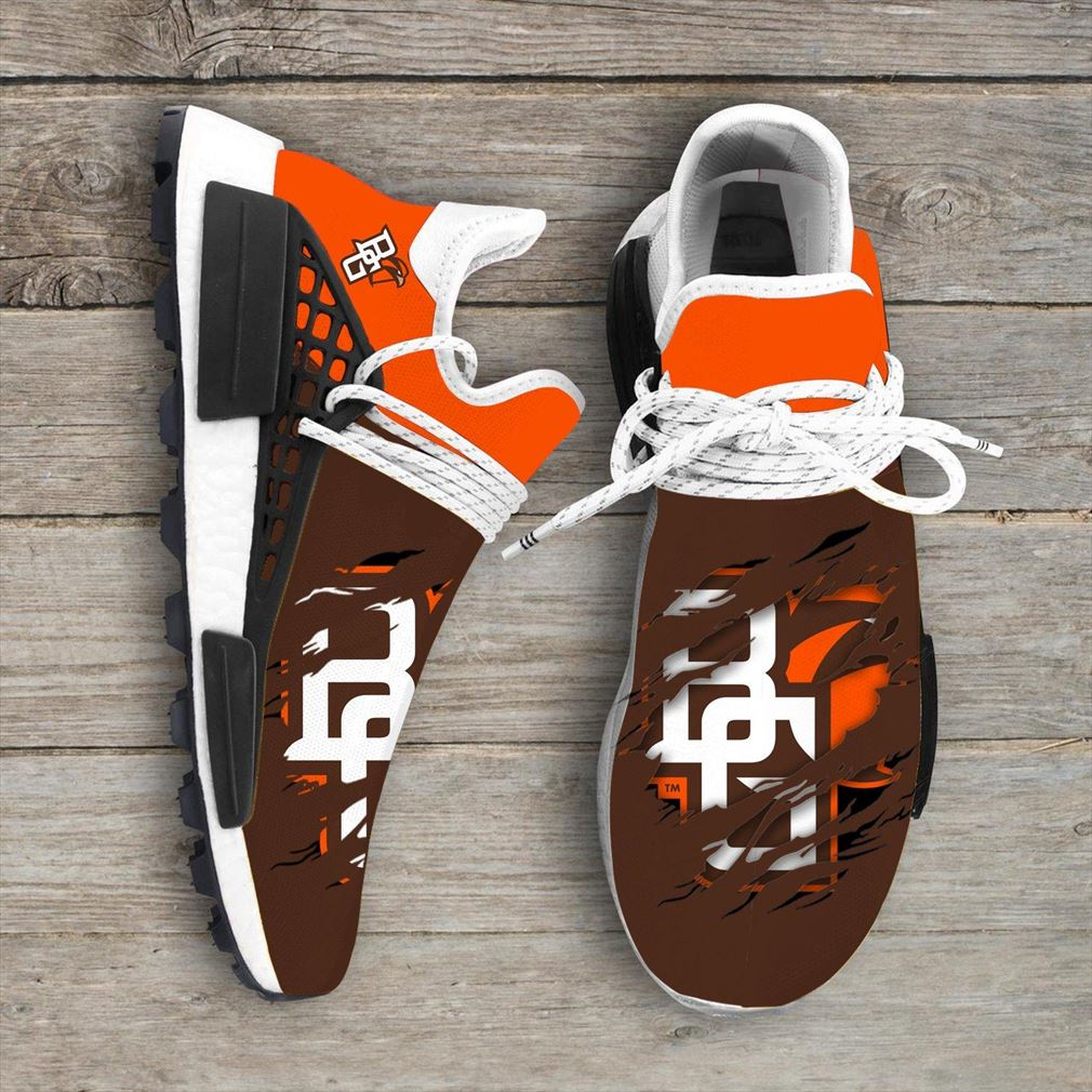 Bowling Green Falcons Ncaa Sport Teams Nmd Human Race Shoes