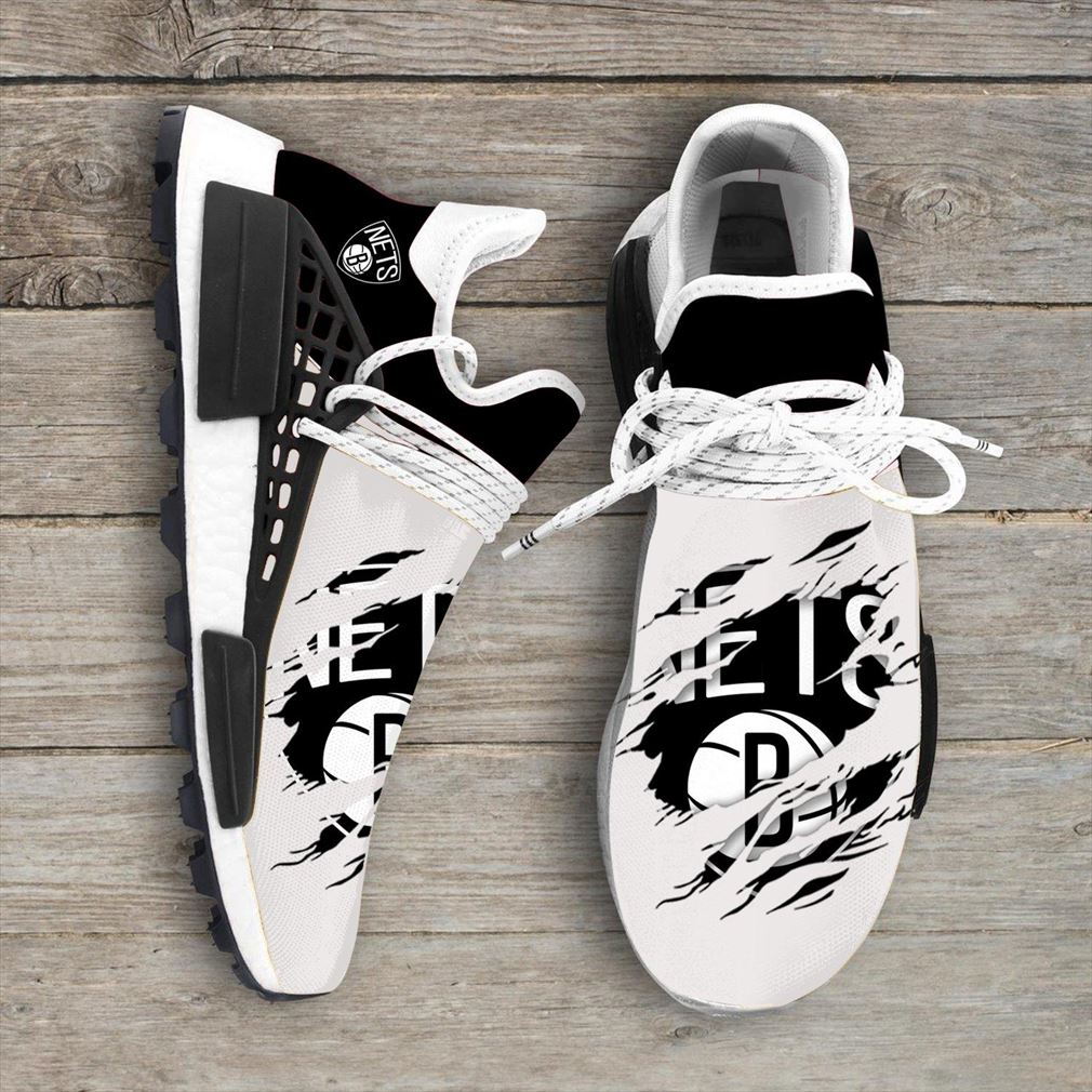 Brooklyn Nets Nba Nmd Human Race Shoes Sport Shoes
