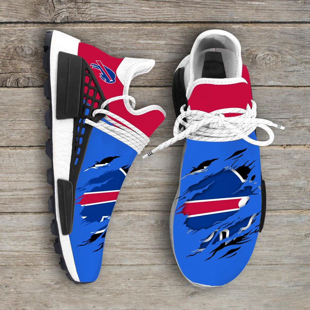 Buffalo Bills Nfl Sport Teams Nmd Human Race Sneakers Sport Shoes Running Shoes