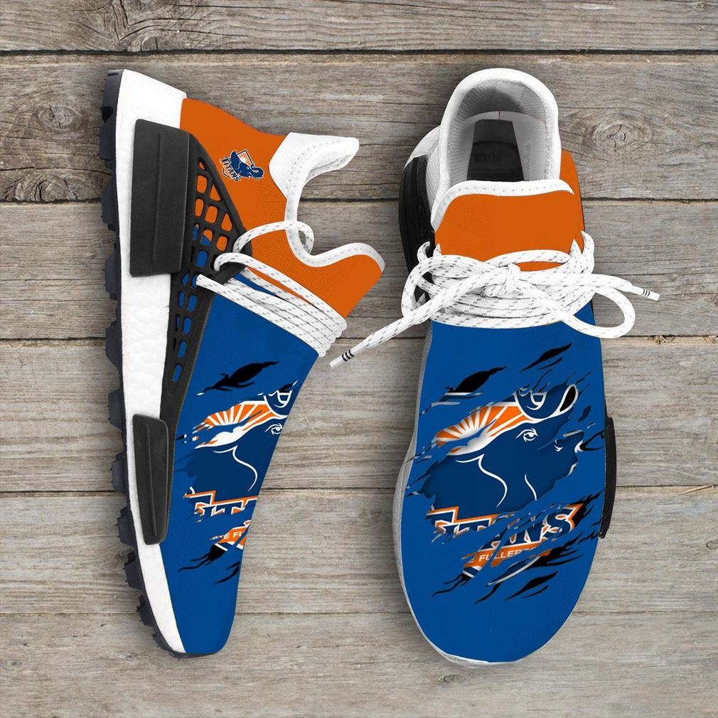 Cal State Fullerton Titans Ncaa Sport Teams Nmd Human Race Shoes