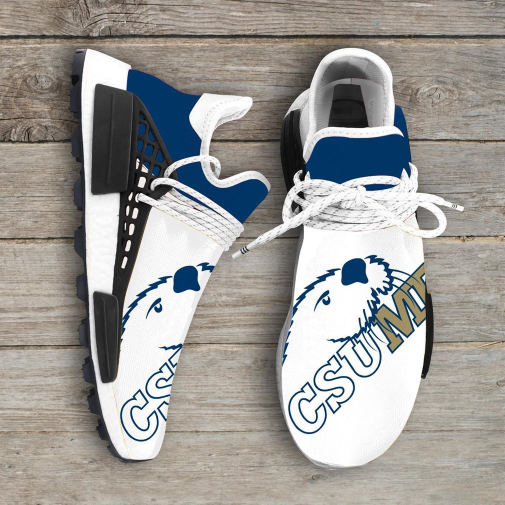 Cal State Monterey Bay Otters Ncaa Nmd Human Race Sneakers Sport Shoes Running Shoes