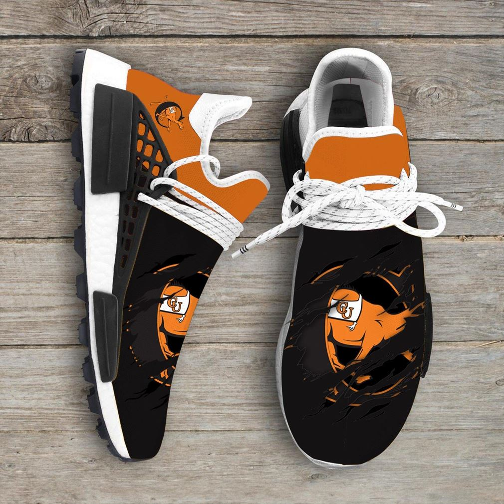 Campbell Fighting Camels Ncaa Sport Teams Nmd Human Race Shoes