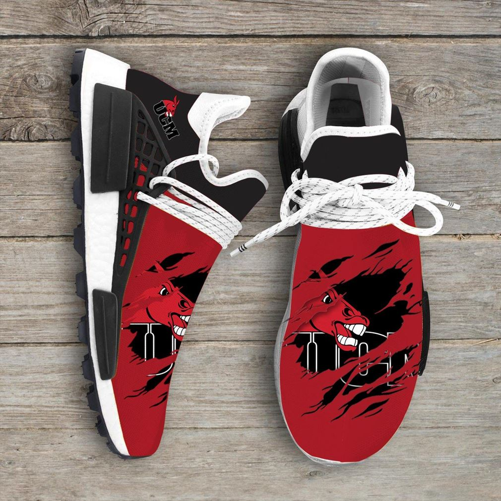 Central Missouri Mules Ncaa Sport Teams Nmd Human Race Shoes Sneakers