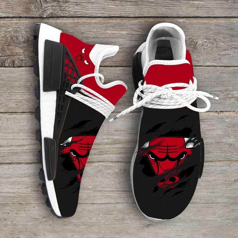 Chicago Bulls Nba Nmd Human Race Shoes Sport Shoes Vip