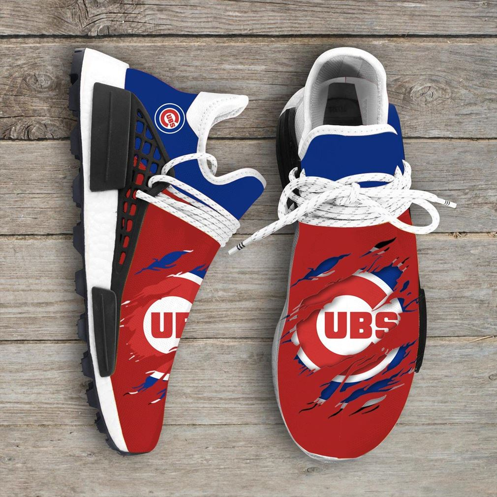 Chicago Cubs Mlb Sport Teams Nmd Human Race Sneakerssport Shoes
