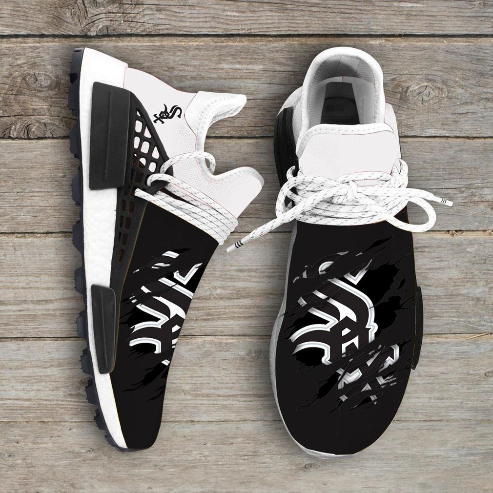 Chicago White Sox Mlb Sport Teams Nmd Human Race Sneakers Sport Shoes Running Shoes