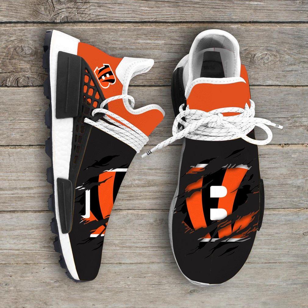 Cincinnati Bengals Nfl Nmd Human Race Shoes Sport Shoes