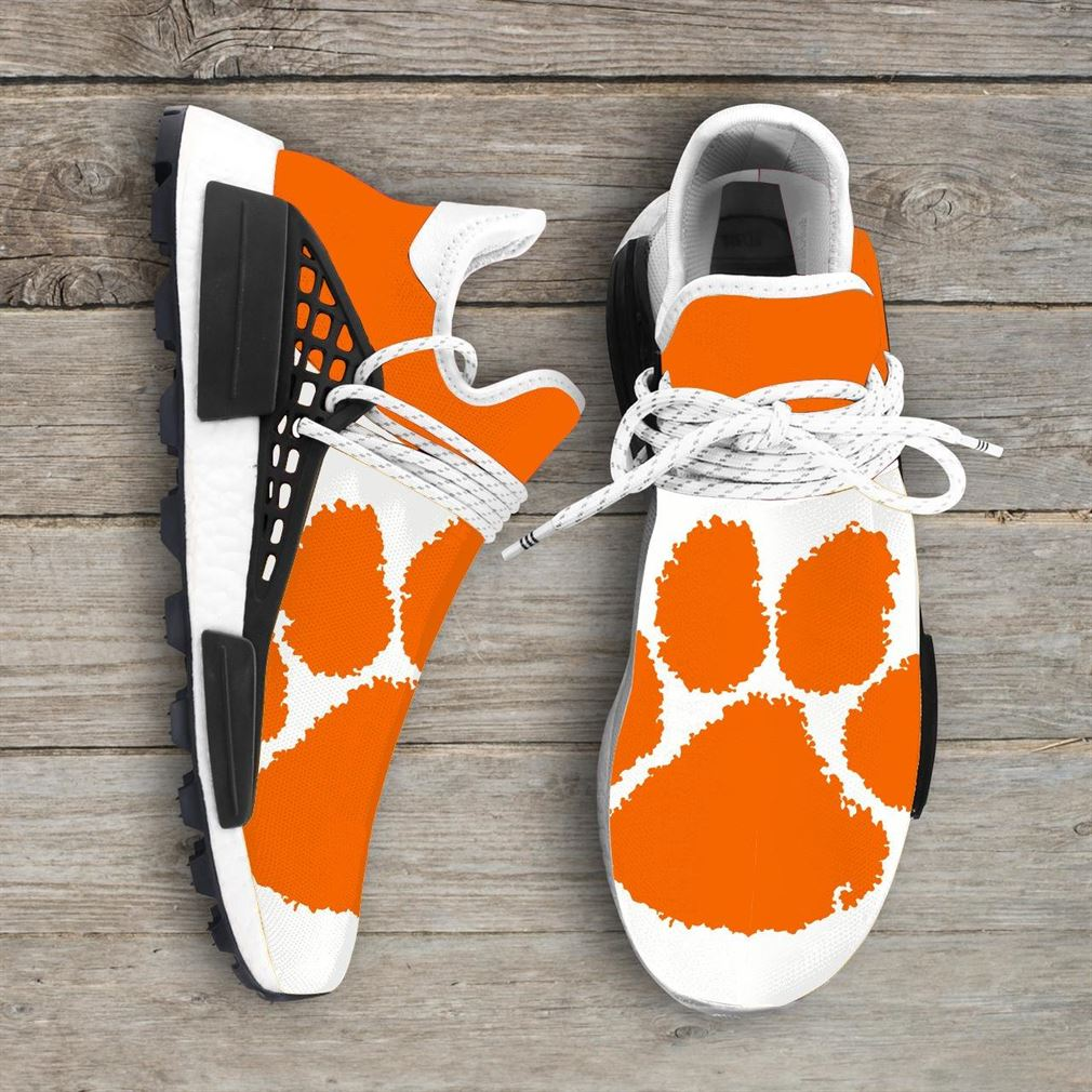 Clemson Tigers Ncaa Nmd Human Race Sneakers Sport Shoes Running Shoes