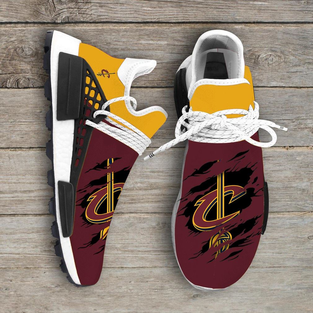 Cleveland Cavaliers Nba Nmd Human Race Shoes Sport Shoes Vip