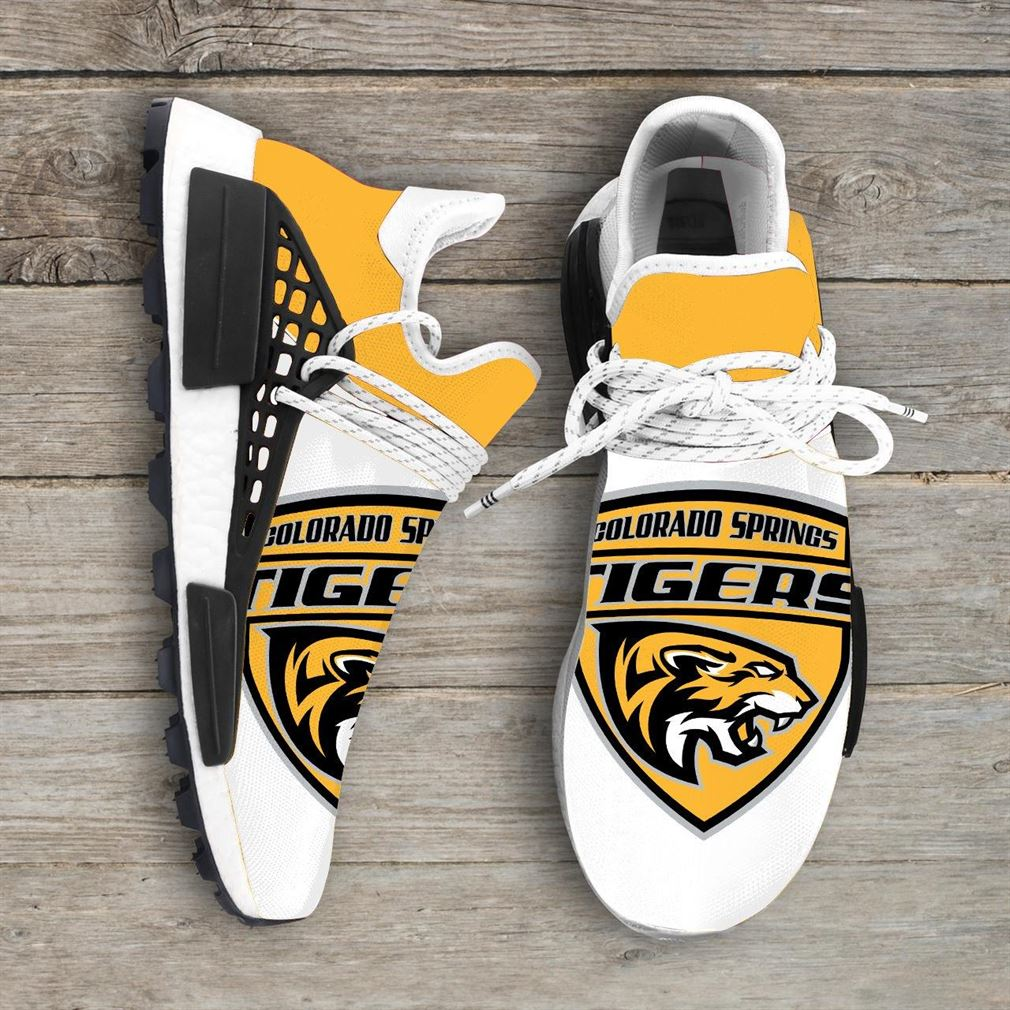Colorado College Tigers Ncaa Nmd Human Race Sneakers Sport Shoes Running Shoes