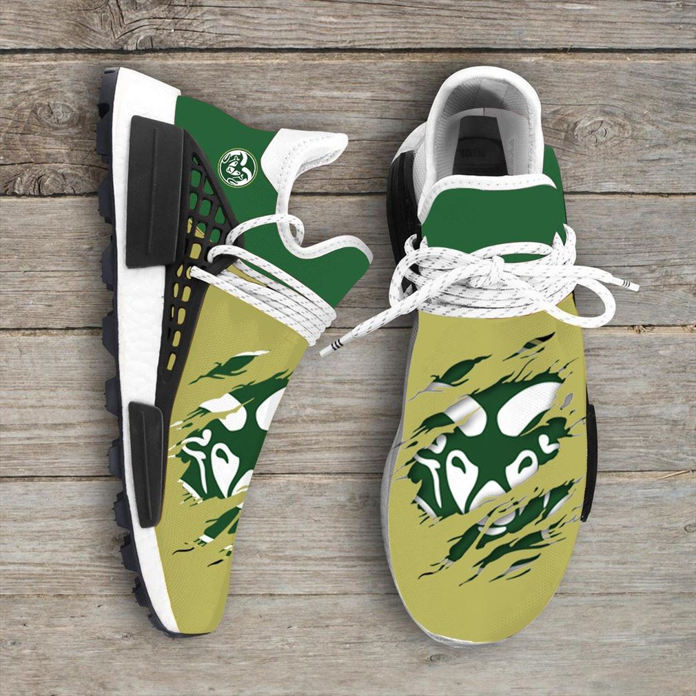 Colorado State Rams Ncaa Nmd Human Race Sneakers Sport Teams 2020 Vip