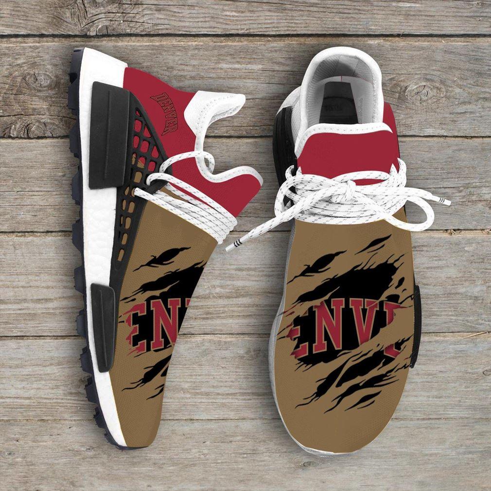 Denver Pioneers Ncaa Sport Teams Nmd Human Race Sneakers Sport Shoes Running Shoes Vip
