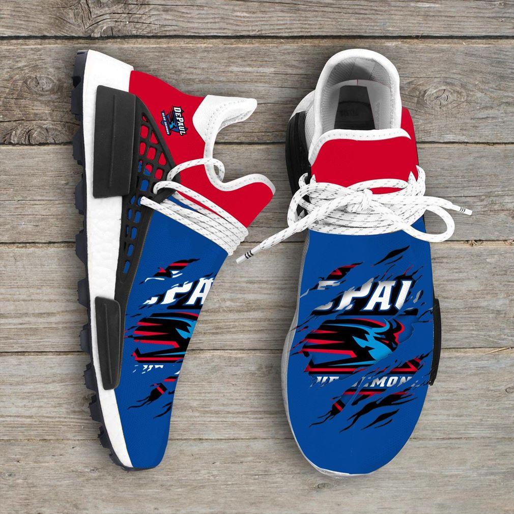 Depaul Blue Demons Ncaa Sport Teams Nmd Human Race Sneakers Sport Shoes Running Shoes