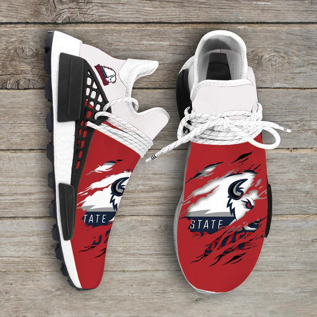 Dixie State Trailblazers Ncaa Sport Teams Nmd Human Race Sneakers Sport Shoes
