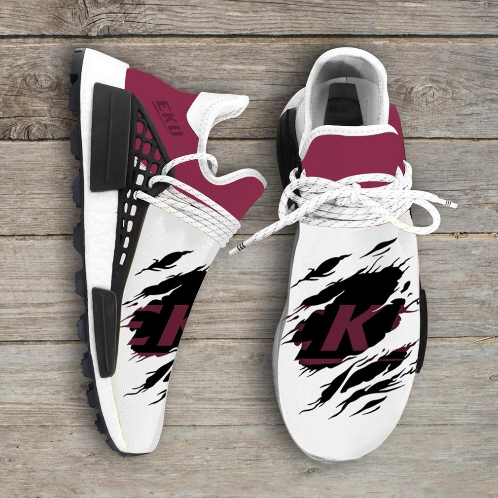 Eastern Kentucky Colonels Ncaa Sport Teams Nmd Human Race Sneakers Sport Shoes Running Shoes