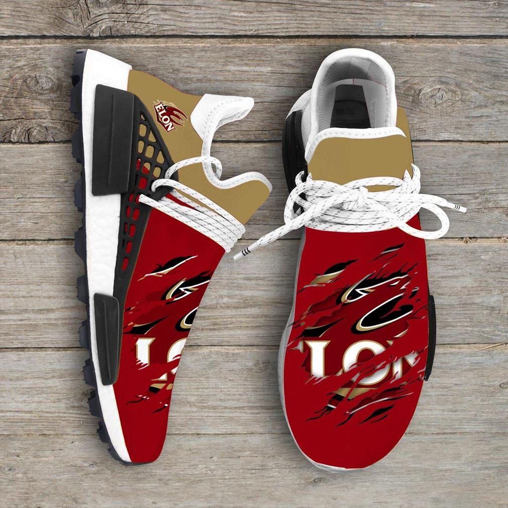 Elon Phoenix Ncaa Sport Teams Nmd Human Race Sneakers Sport Shoes Running Shoes