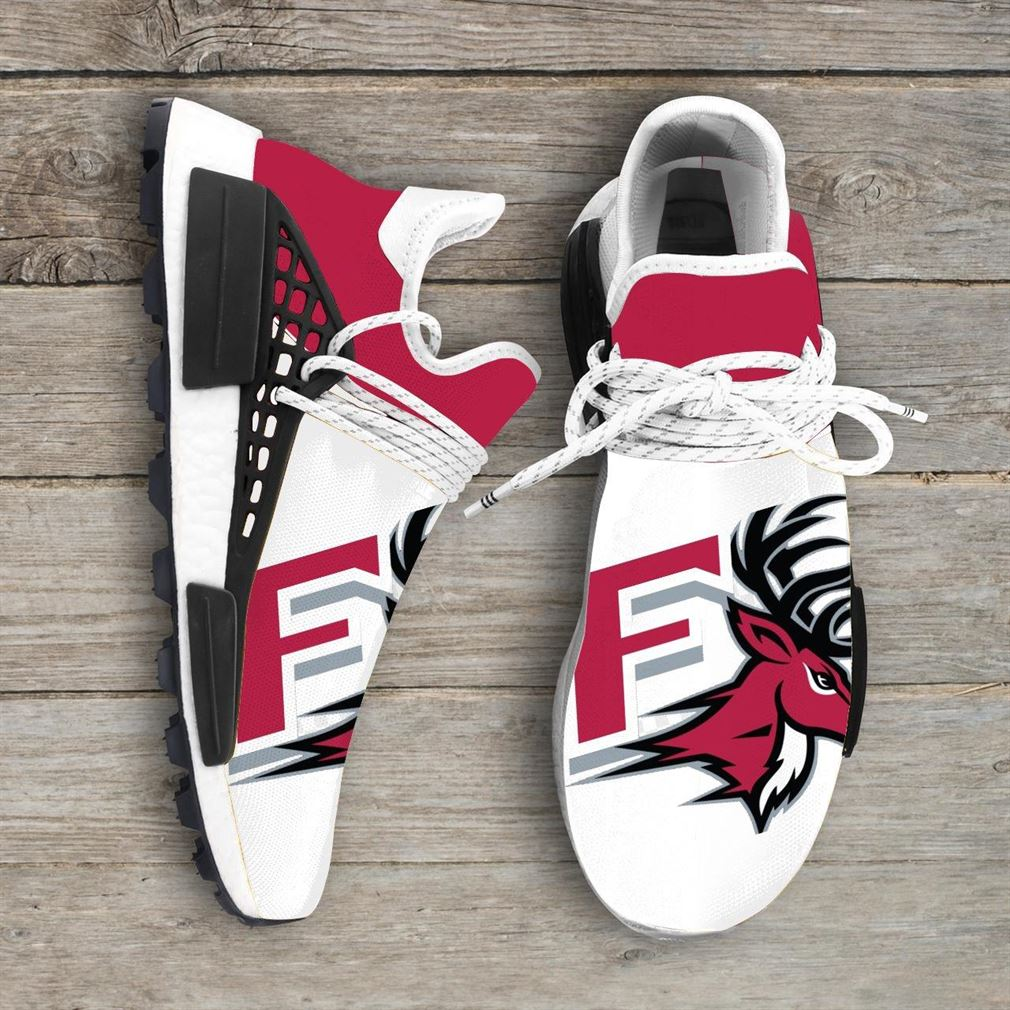 Fairfield Stags Ncaa Nmd Human Race Sneakers Sport Shoes Running Shoes
