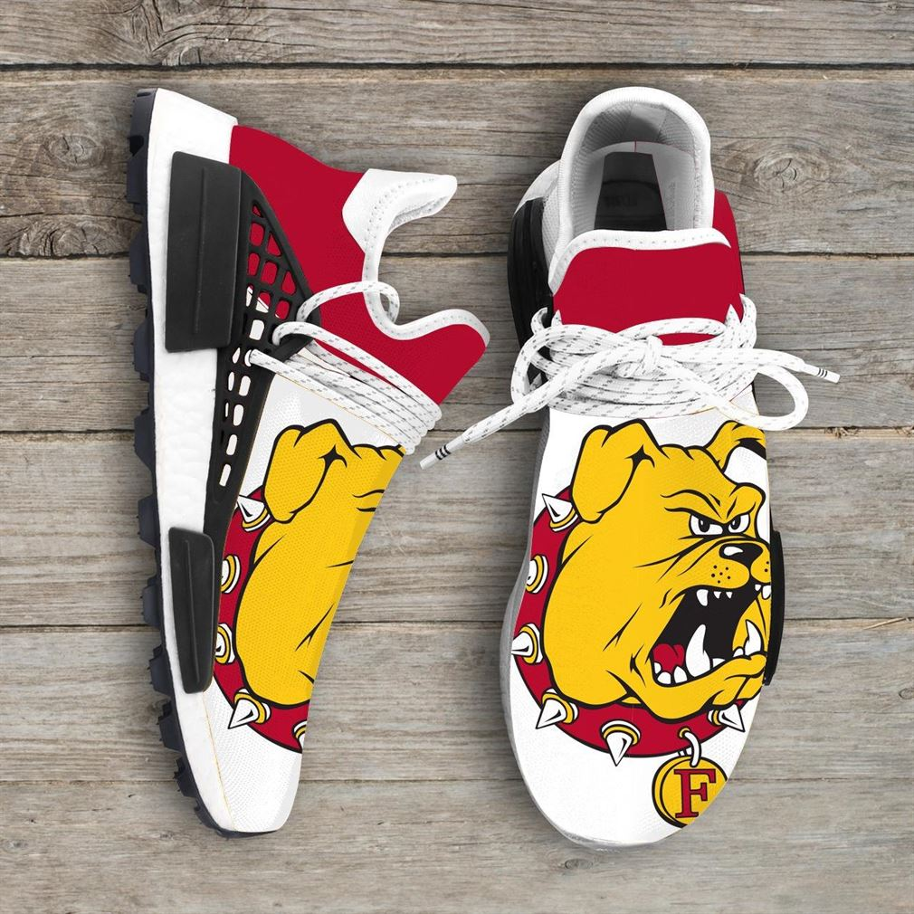 Ferris State Bulldogs Ncaa Nmd Human Race Sneakers Sport Shoes Running Shoes