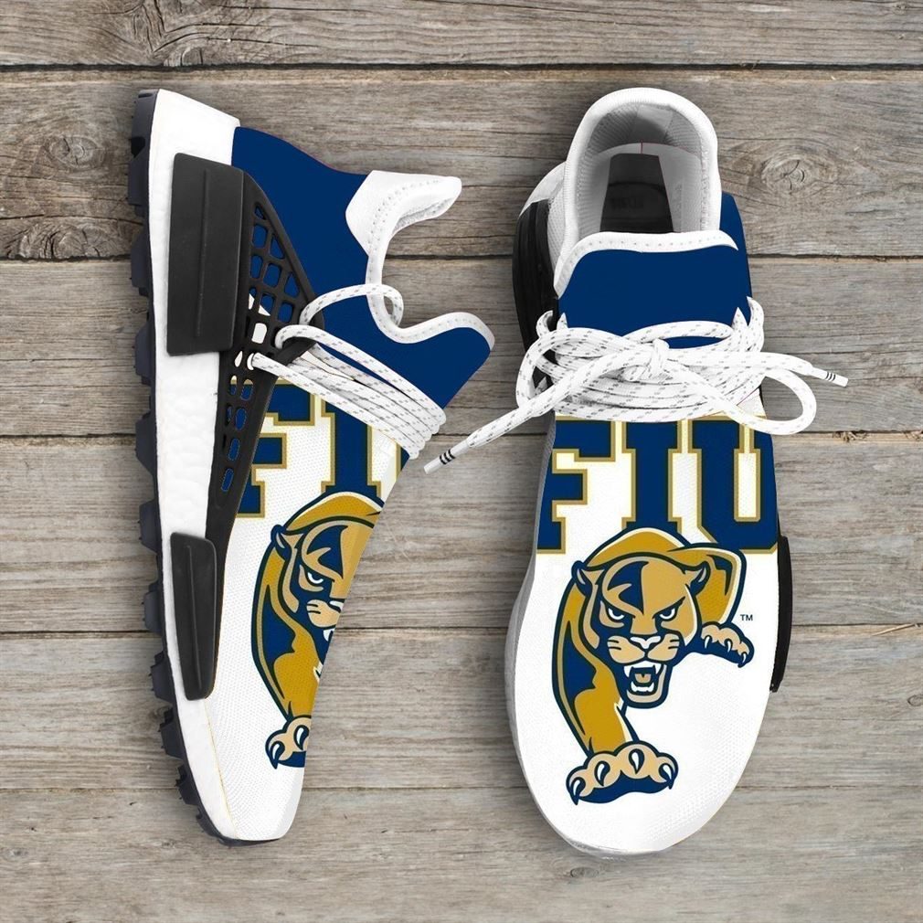 Fiu Panthers Ncaa Nmd Human Race Sneakers Sport Shoes Running Shoes