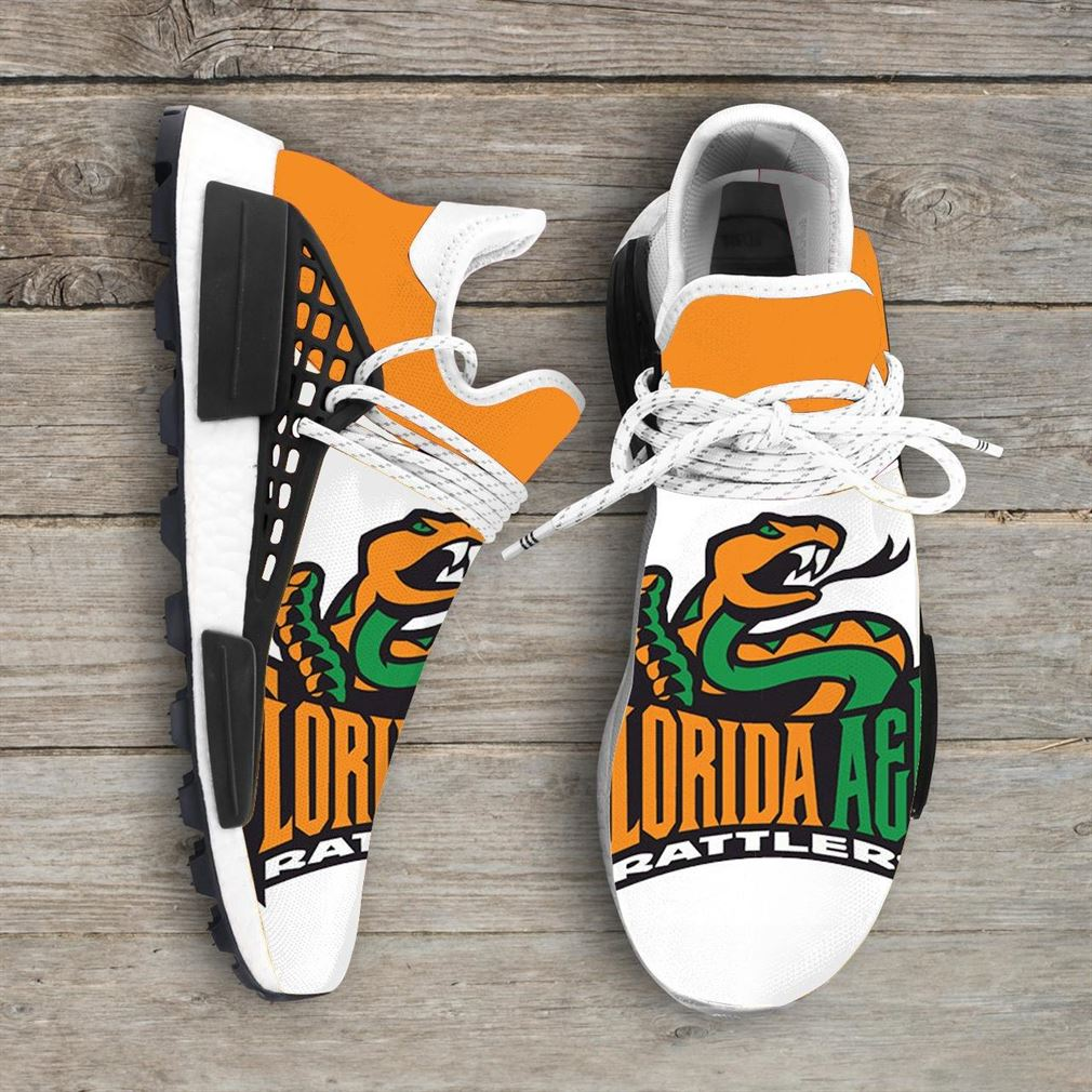 Florida Am University Ncaa Nmd Human Race Sneakers Sport Shoes Running Shoes