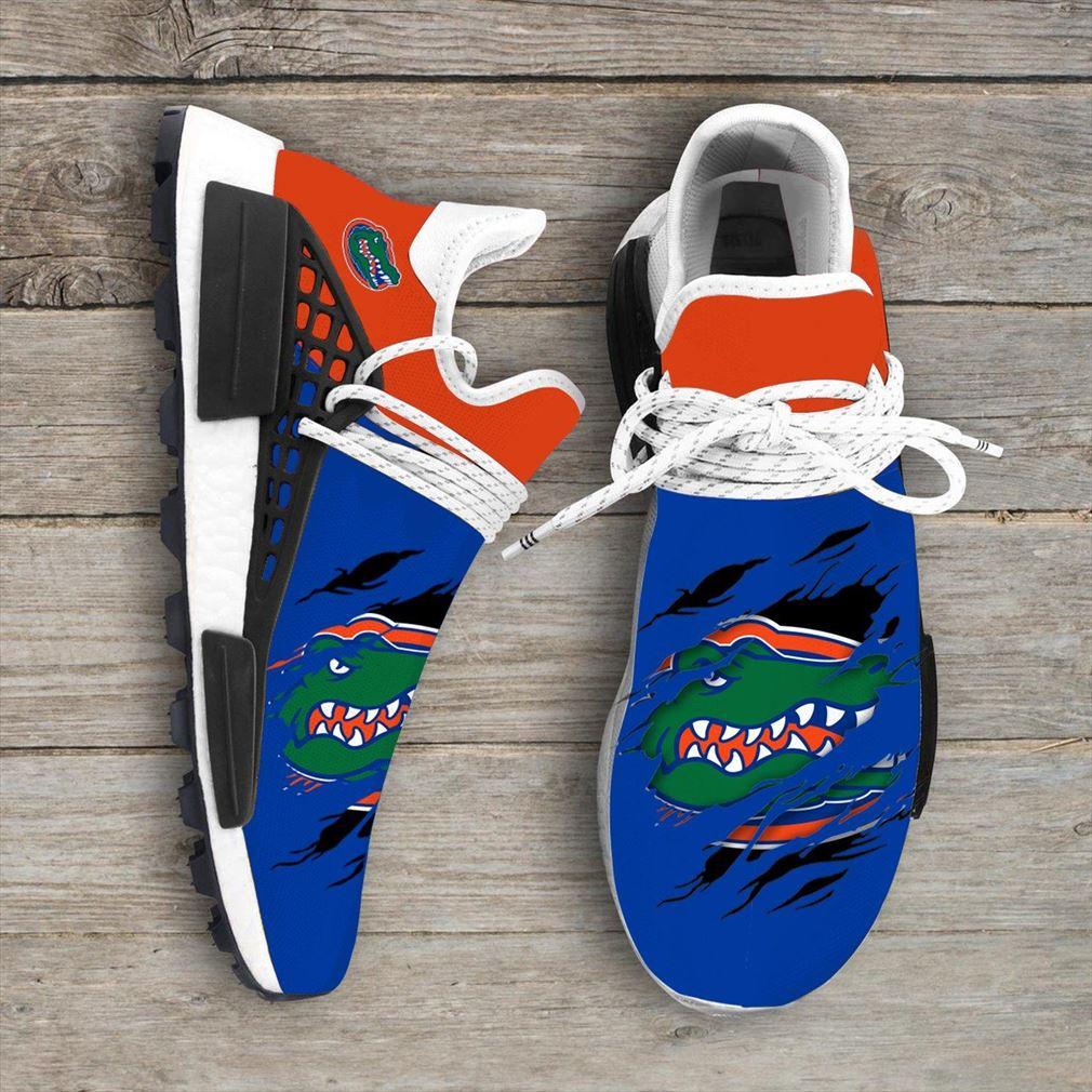 Florida Gators Ncaa Sport Teams Nmd Human Race Sneakers Shoes