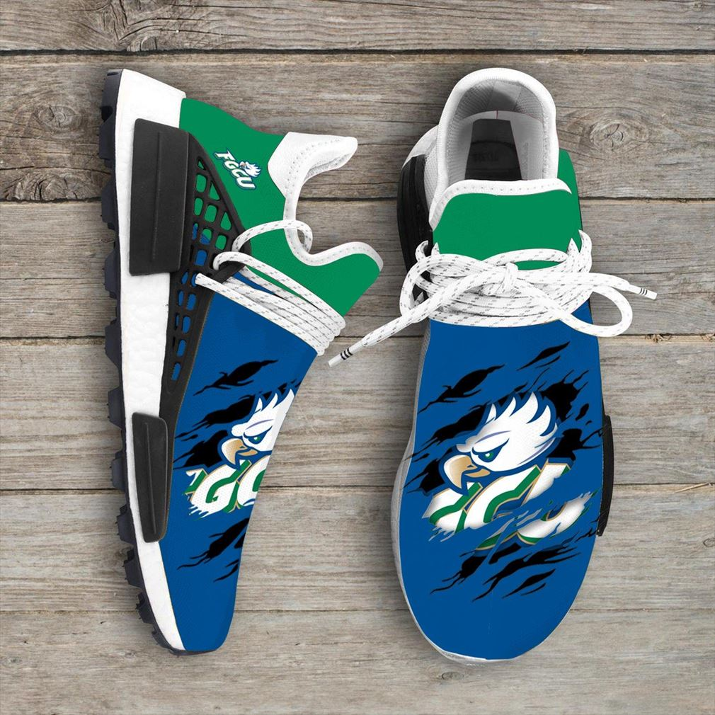 Florida Gulf Coast Eagles Ncaa Sport Teams Nmd Human Race Sneakers Shoes