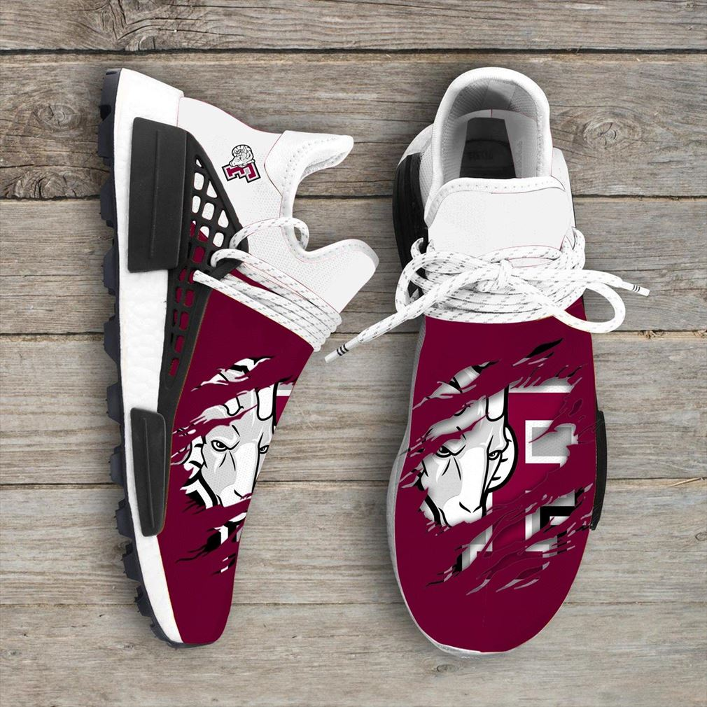 Fordham Rams Ncaa Sport Teams Nmd Human Race Sneakers Shoes