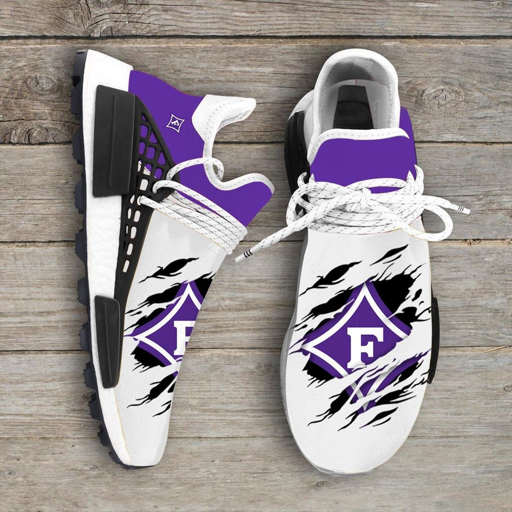 Furman Paladins Ncaa Sport Teams Nmd Human Race Sneakers Shoes