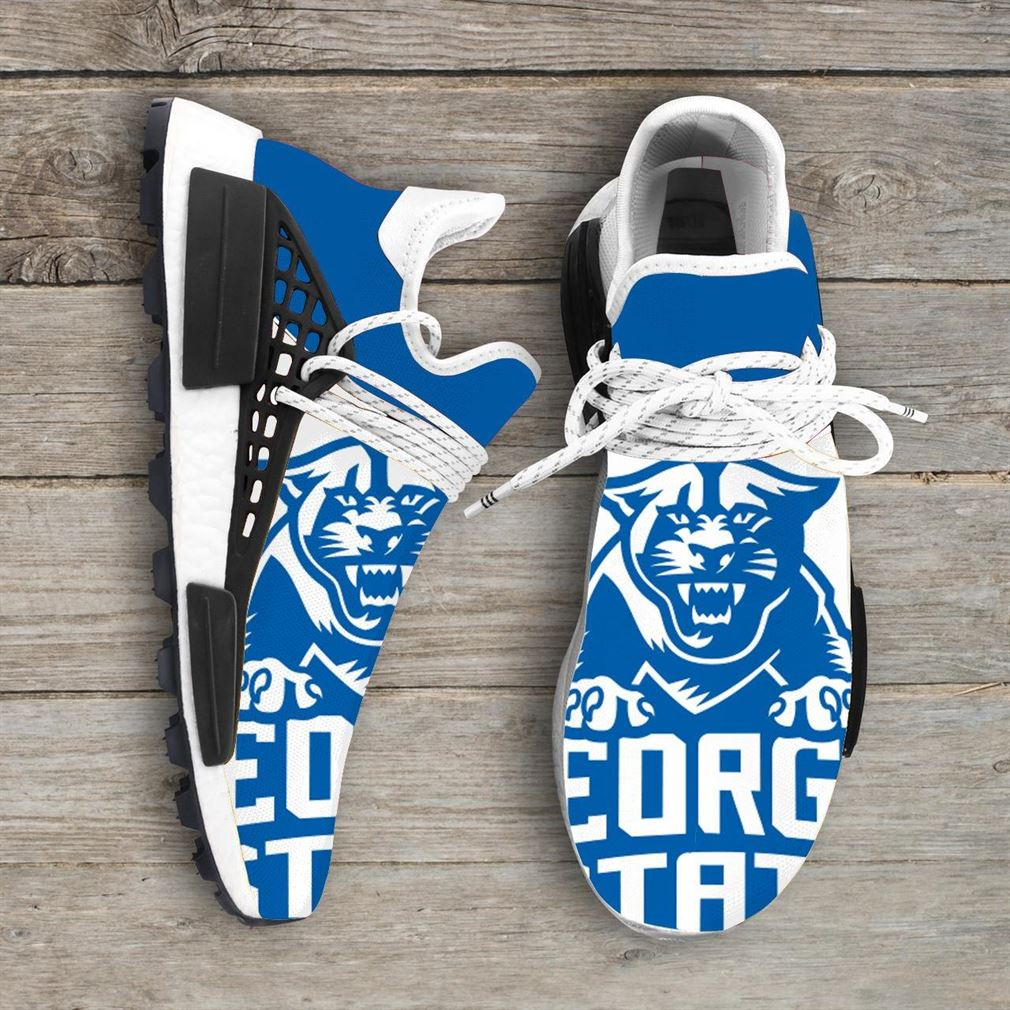 Georgia State Panthers Ncaa Nmd Human Race Sneakers Sport Shoes Running Shoes