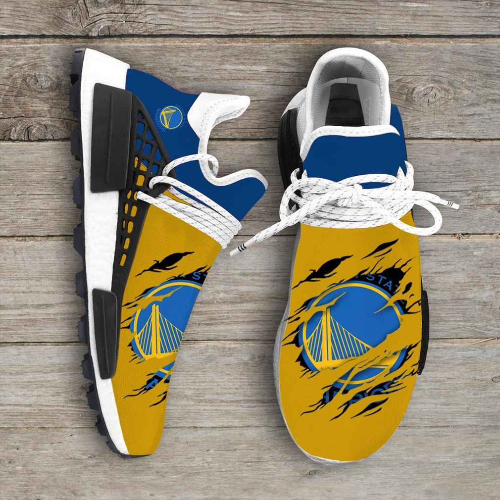 Golden State Warriors Nba Nmd Human Race Shoes Sport Shoes Vip