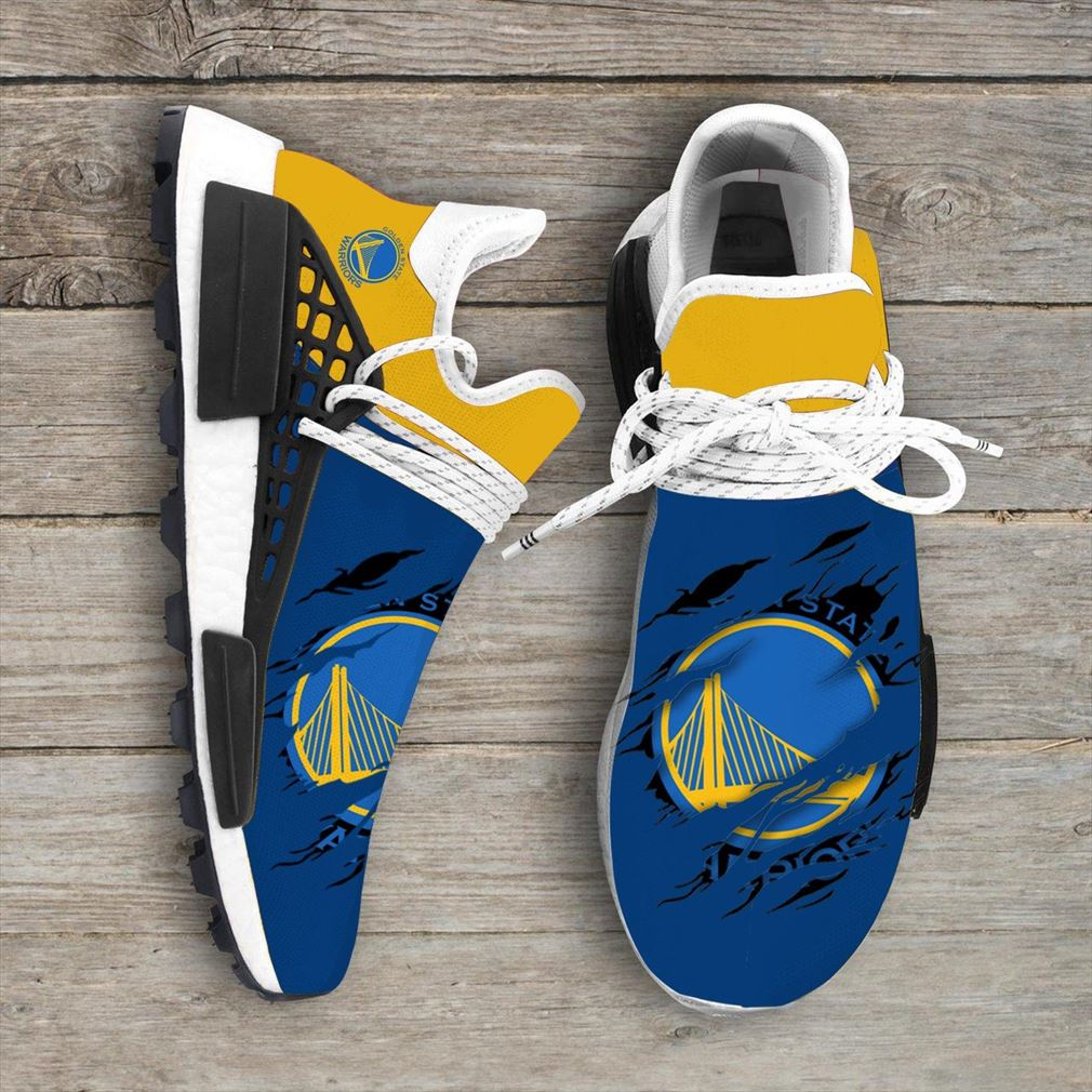 Golden State Warriors Nba Nmd Human Race Shoes Sport Shoes