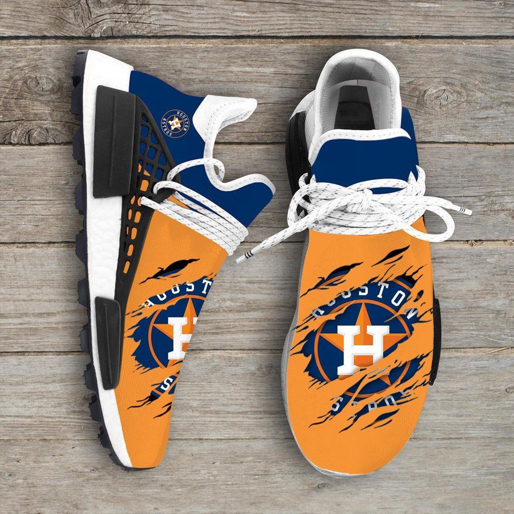 Houston Astros Mlb Nmd Human Race Shoes Sport Shoes