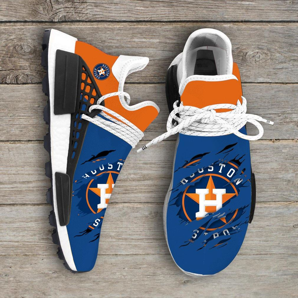 Houston Astros Mlb Sport Teams Nmd Human Race Sneakers Sport Shoes Running Shoes