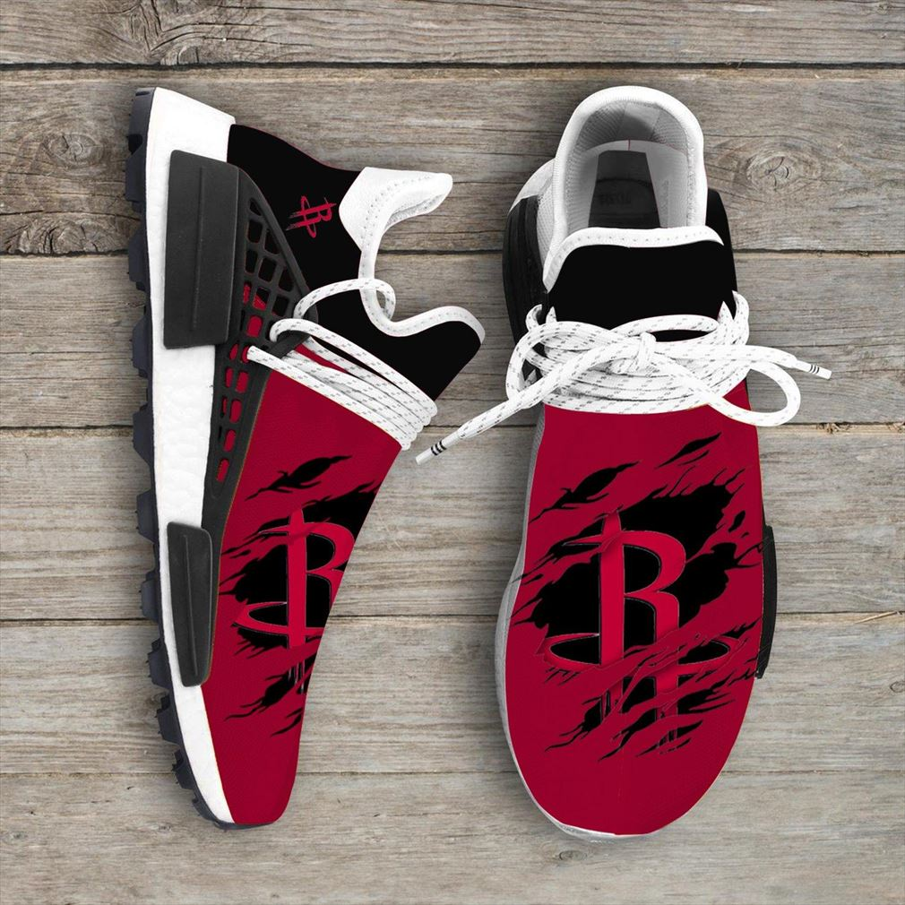 Houston Rockets Nba Nmd Human Race Shoes Sport Shoes