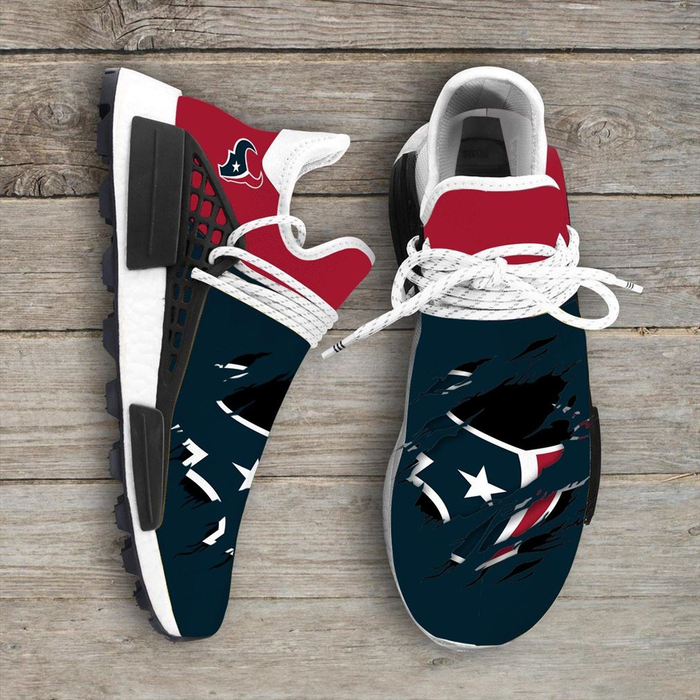 Houston Texans Nfl Nmd Human Race Shoes Sport Shoes