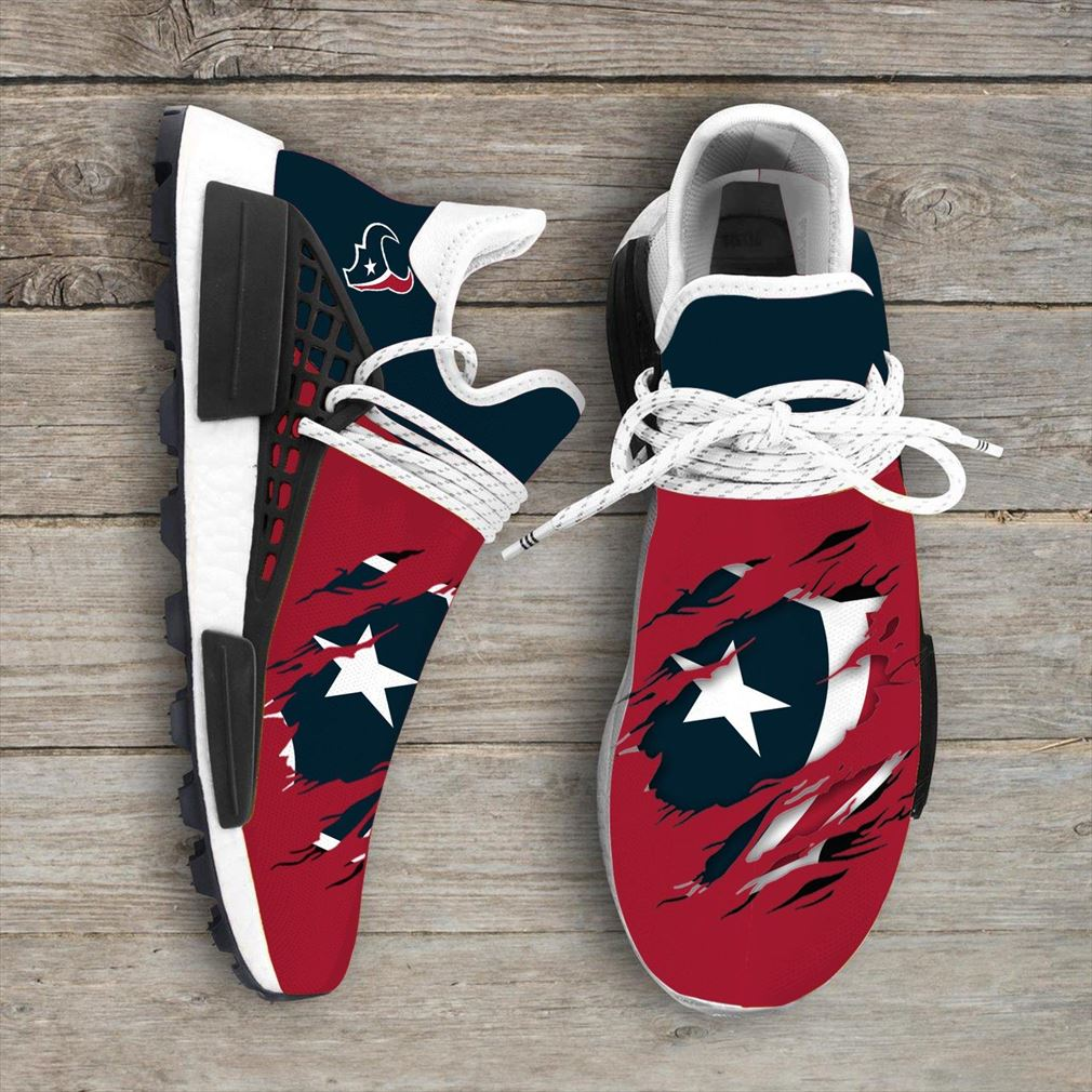Houston Texans Nfl Sport Teams Nmd Human Race Sneakers Sport Shoes Running Shoes