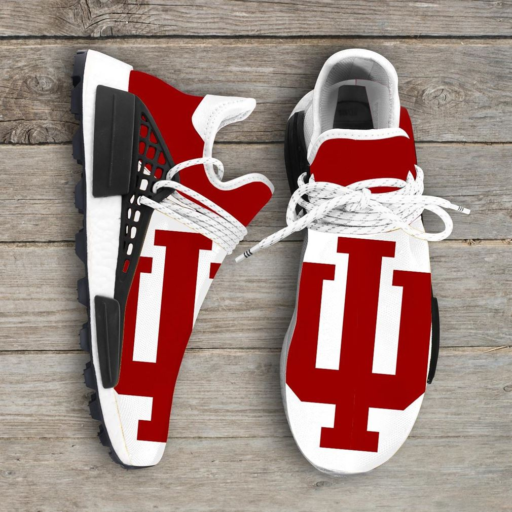 Indiana Hoosiers Ncaa Nmd Human Race Sneakers Sport Shoes Running Shoes