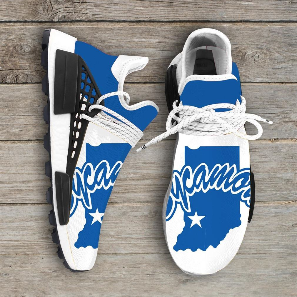 Indiana State University Ncaa Nmd Human Race Sneakers Sport Shoes Running Shoes