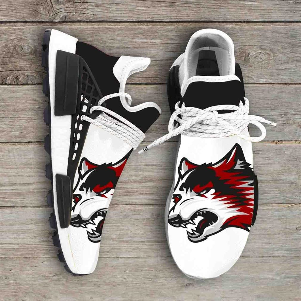 Indiana University East Red Wolves Ncaa Nmd Human Race Sneakers Sport Shoes Running Shoes