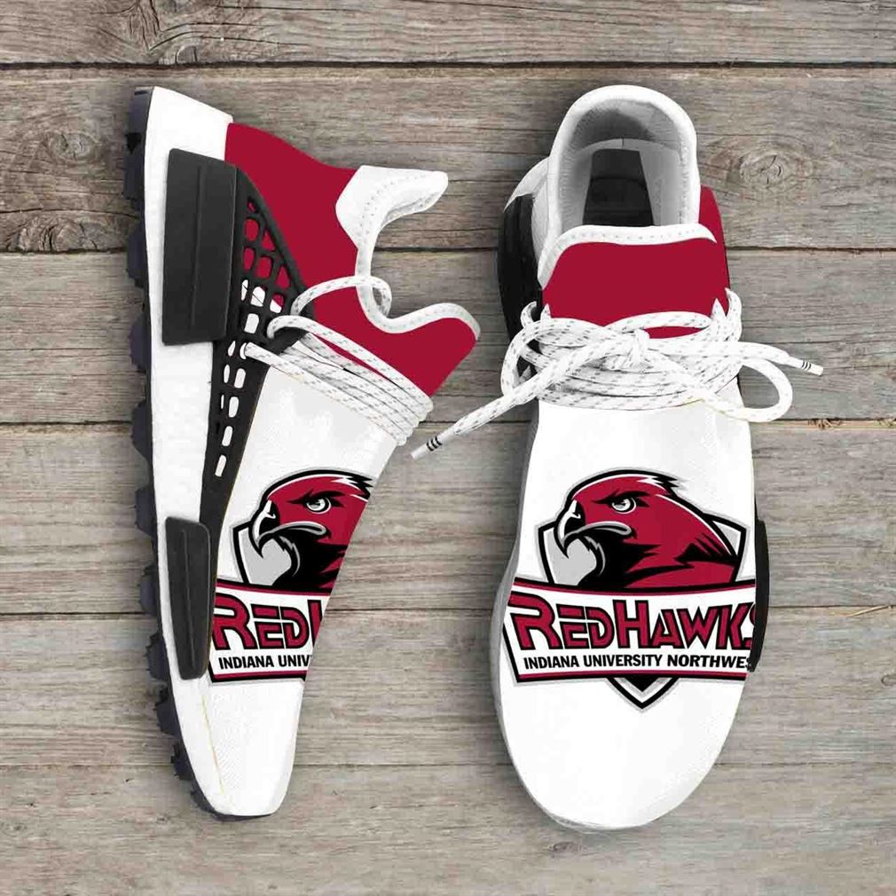 Indiana University Northwest Red Ncaa Nmd Human Race Sneakers Sport Shoes Running Shoes