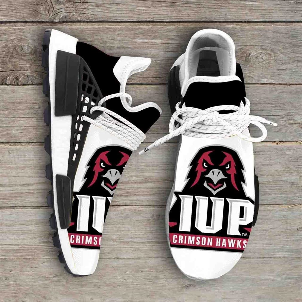 Indiana University Of Pennsylvania Crimson Hawks Ncaa Nmd Human Race Sneakers Sport Shoes Running Shoes
