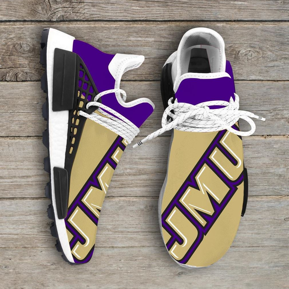 James Madison University Ncaa Nmd Human Race Sneakers Sport Shoes Running Shoes